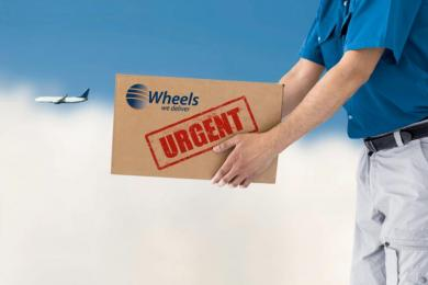 Emergency On-Board Courier Service
